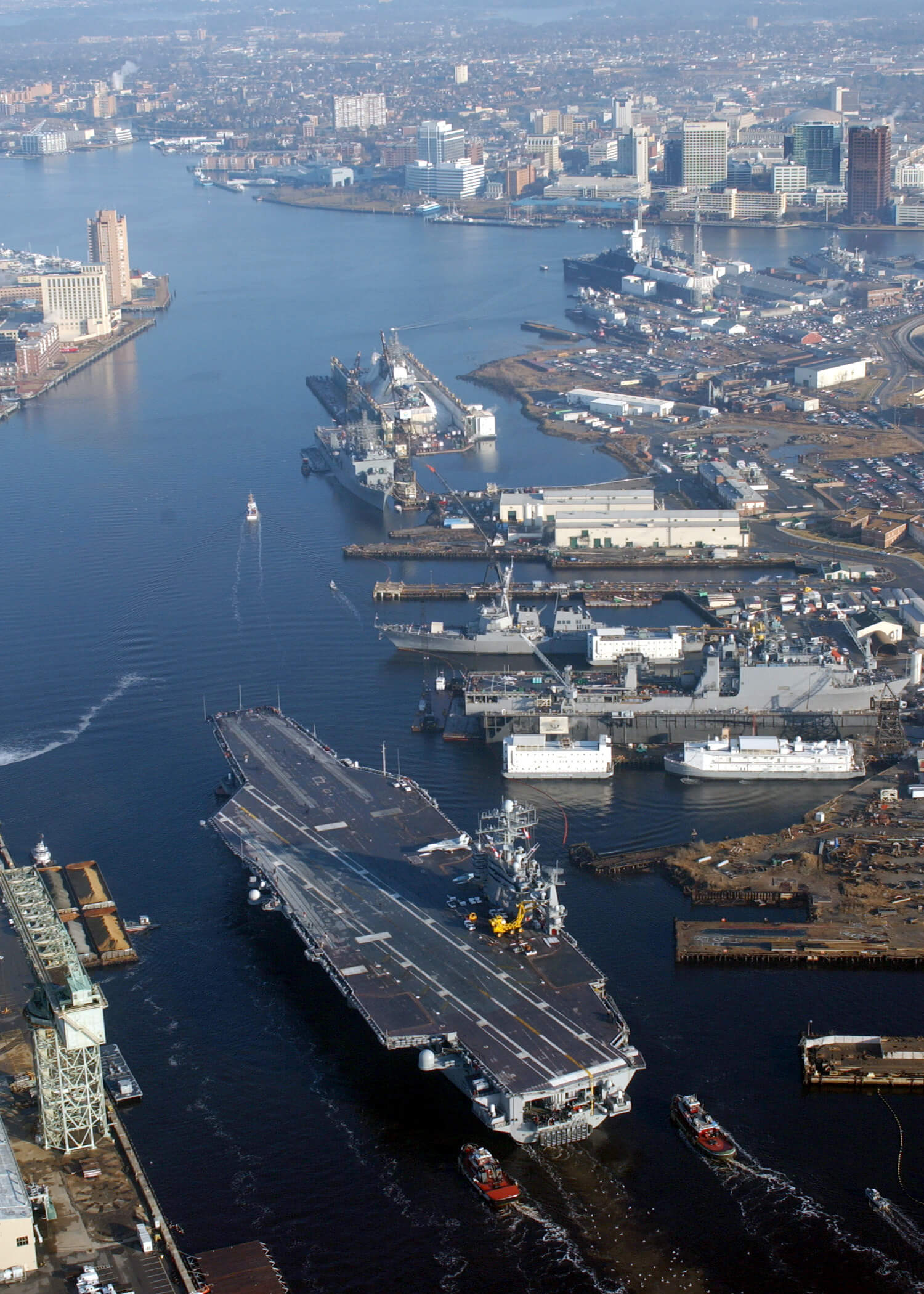 naval ship yard hampton roads