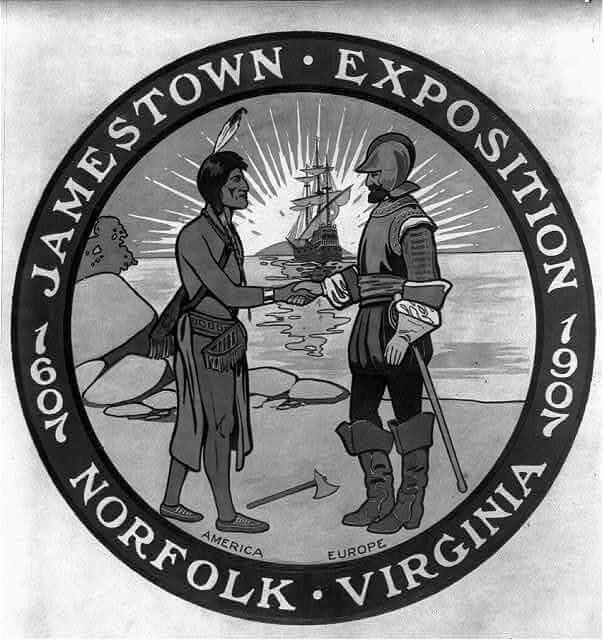 Jamestown logo 1907 Norfolk Virginia