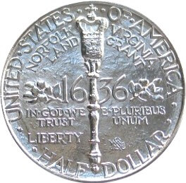 Norfolk Virginia bicentennial half dollar